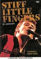DVD Stiff Little Fingers - Handheld & Rigidly Digita
