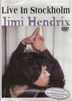 DVD Jimi Hendrix Live in Stockholm