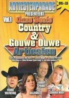 CD+DVD - Onze Beste Country & Gouwe Ouwe Artiesten Vol. 1